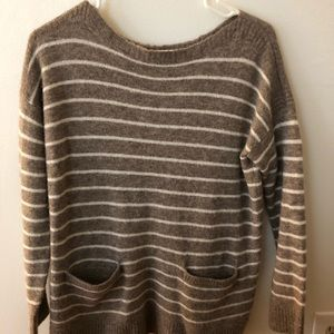 abercrombie boatneck sweater